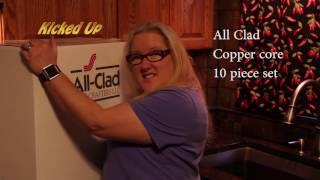 All Clad Unboxing Copper Core 10 piece set