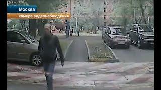 Маньяк с ножом напал на школьницу в Москве. Видео с камер!