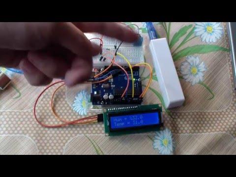 Ардуино: подключаем DHT11 к LCD I2C