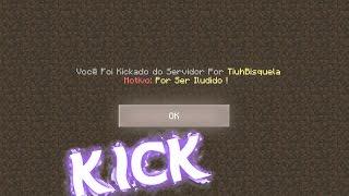 🐒 Plugin De Kick Personalizado, MyKick Para PocketMine, Genisys e Hosts...