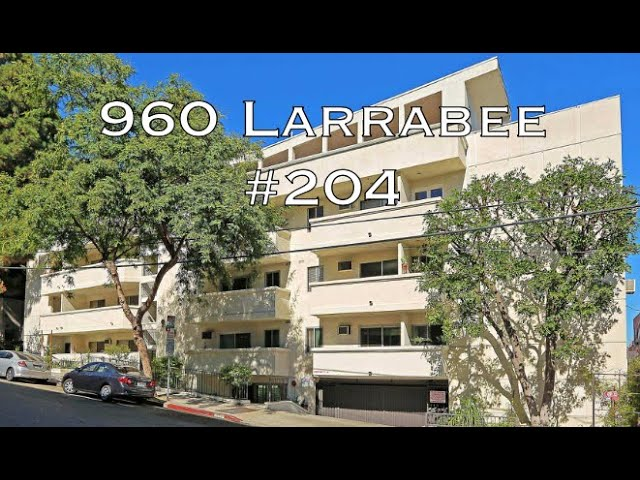 960 Larrabee #204, West Hollywood, CA 90069