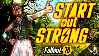 How To START OUT STRONG In Fallout 76 (A Beginners Guide)