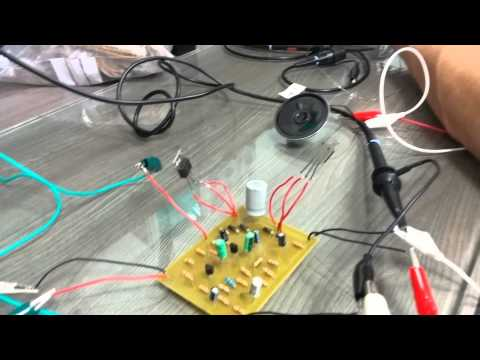 Electrical Engineering Yr 1 Amplifier | University of Malta