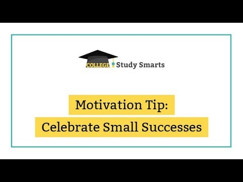 Motivation Tip: Celebrate Small Successes