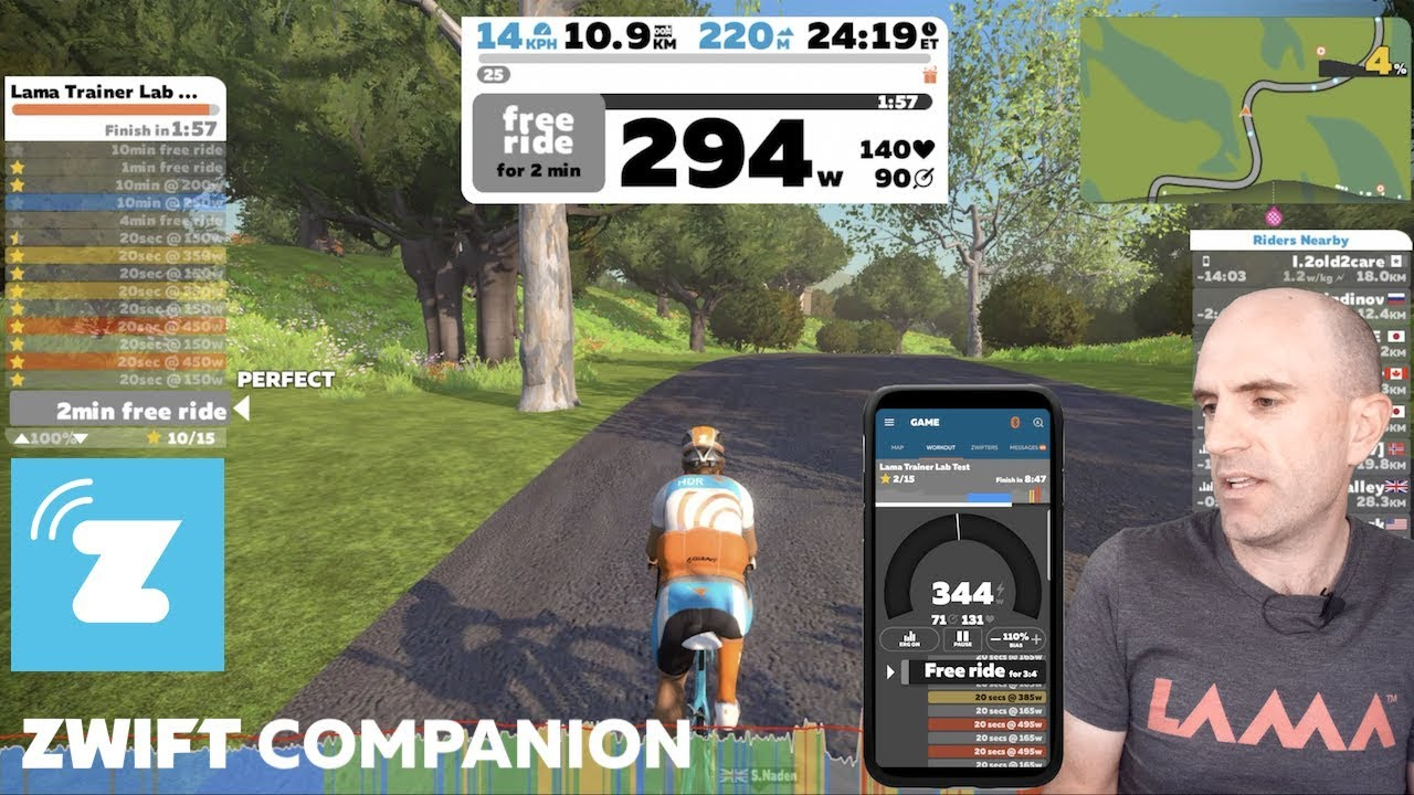 Zwift Companion App for IOS & Android Devices // Full Details