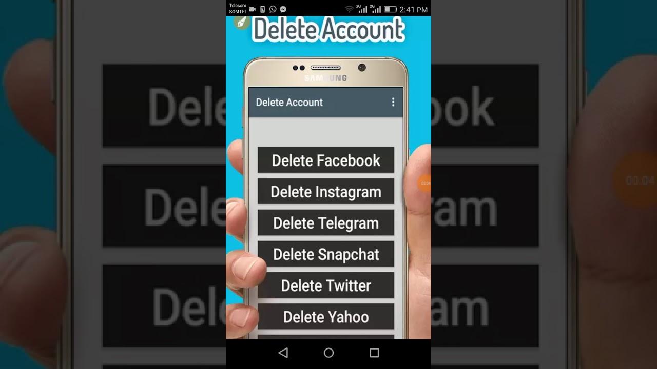 Akkamitti account keenya haala salphaan delete gochuu dandeenna akkamitti account keenya haala salphaan delete gochuu dandeenna video kana daawwadhaa subscribe ccuart Gallery