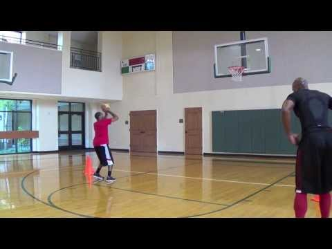 """Maurice Evans NBA Workout - Advanced Footwork/ """"Back to the basket"""" Mid-range attack moves!!!"""