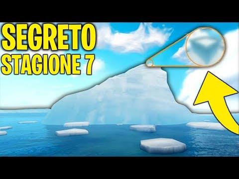 Ho TROVATO un SEGRETO della STAGIONE 7 dentro all'ICEBERG!   Fortnite News & Esperimenti ITA