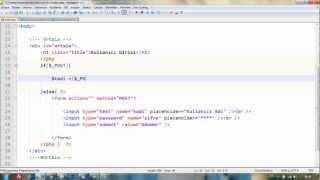 PHP Session Sınıfı Yazmak
