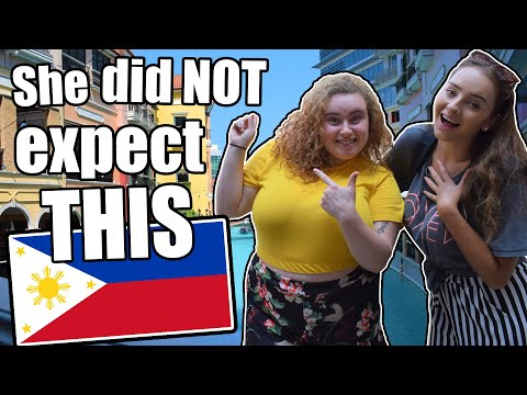 SHE DIDN'T EXPECT THIS IN THE PHILIPPINES! EVE'S FIRST REACTION TO THE PHILIPPINES!