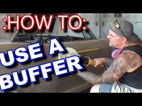 How To: Use A Buffer On A Car Or Truck-Paint And Body Tech Tips