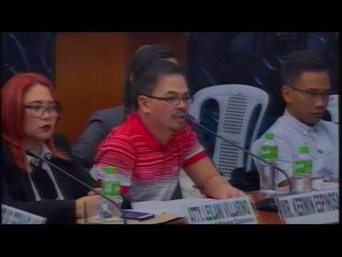 Committee on Public Order and Dangerous Drugs (December 5, 2016)