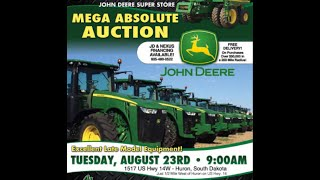 James River Equipment Auction in Huron, SD August 23, 2016