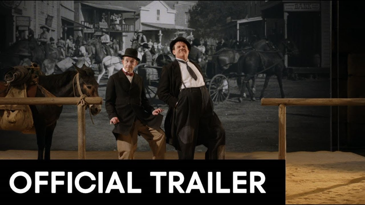 STAN & OLLIE - OFFICIAL MAIN TRAILER [HD] Steve Coogan, John C. Reilly