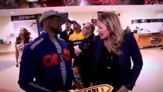 NBA Inside Stuff: Kristen Ledlow checks out the scene in Cleveland