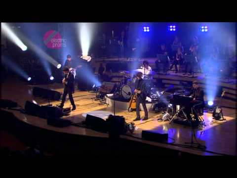 The Last Shadow Puppets - BBC Electric Proms 2008 at Philharmonic Hall, Liverpool, England