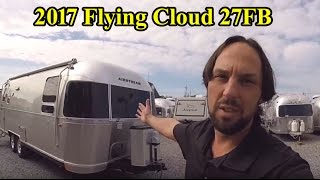 Walk Through 2017 Airstream Flying Cloud 27FB Queen Travel Trailer For Sale