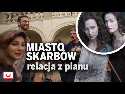 MIASTO SKARBÓW. Jaki jest nowy serial TVP? | Relacja z planu