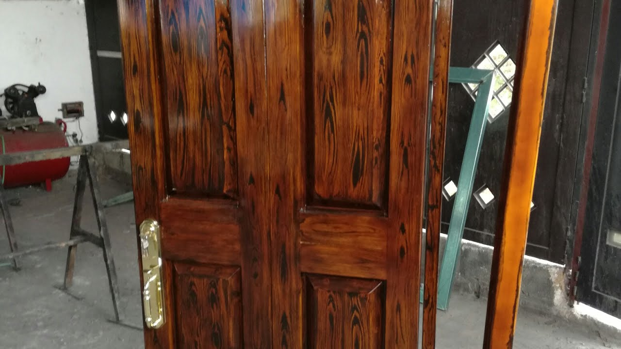 177 aplicaci n de barniz en color nogal youtube - Barniz para madera colores ...