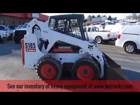 2005 Bobcat S185 Skid Steer Loader Kubota 61HP Turbo Diesel For Sale