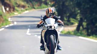 Practicing wheelie on ktm rc 390 |vlog|
