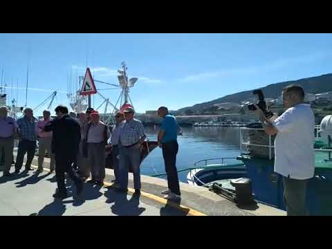Jornada de homenaje al barco museo de Burela
