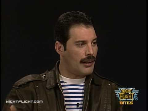 Freddie Mercury Interview on Night Flight: Performing Live ...