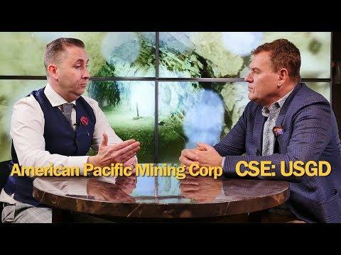 American Pacific Mining CEO Warwick Smith