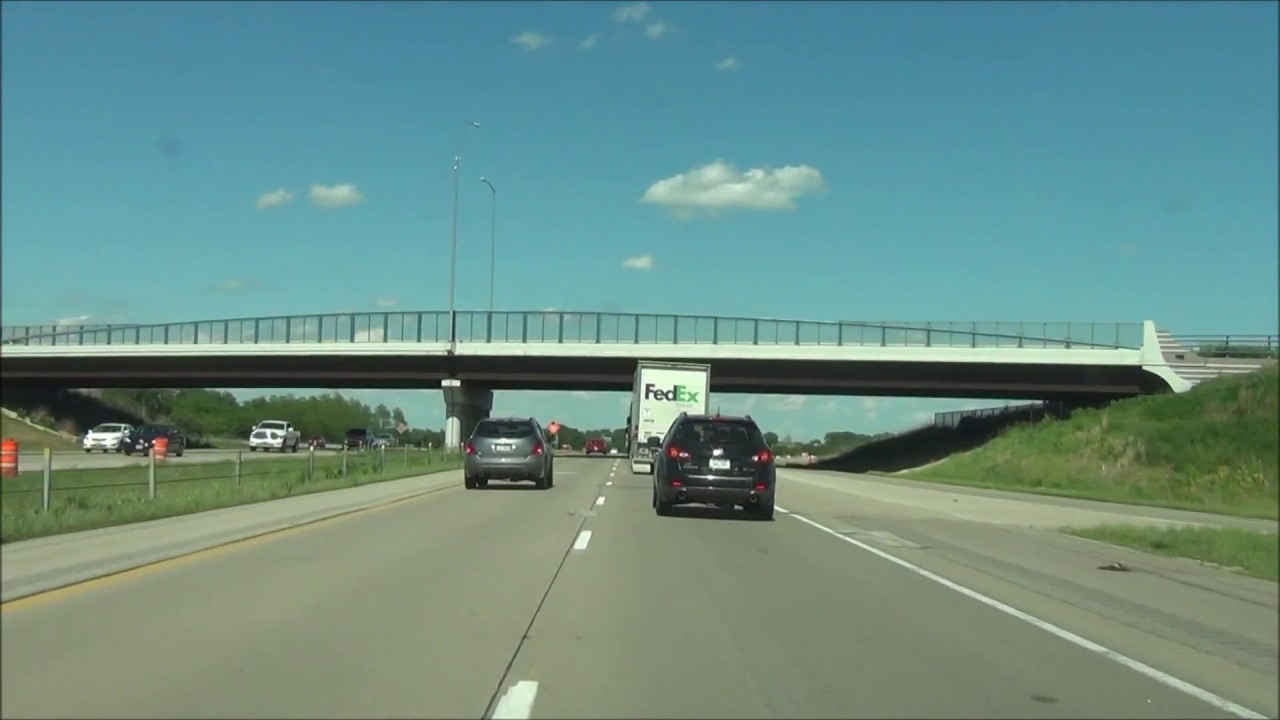 Iowa - Interstate 80 East - Mile Marker 140 to 160