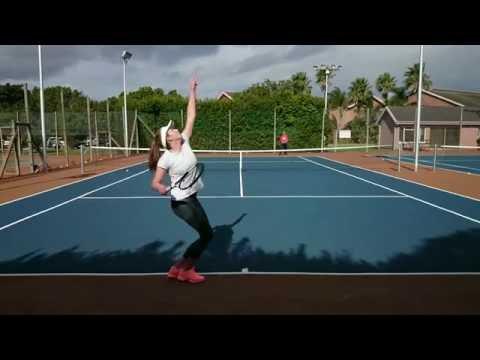 Wilanie Van Zyl College tennis Recruiting Video