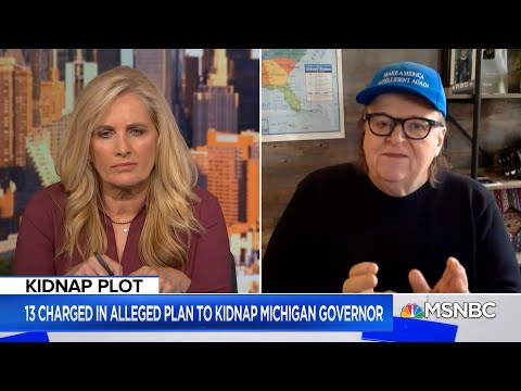 Michael Moore on The Michigan Militia And The Plot To Kidnap Governor Whitmer | Alex Witt | MSNBC