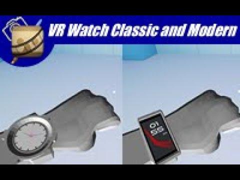 VR watch modern