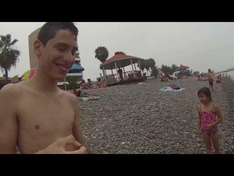 Vlog # LA PUNTA -CALLAO PLAYA EN FAMILIA MUY HELADA!!! viene de la Antártida