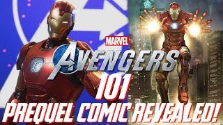 Marvel's Avengers: 101   Prequel Comic Revealed!!! Story Details, The Lethal Legion, & More!!!