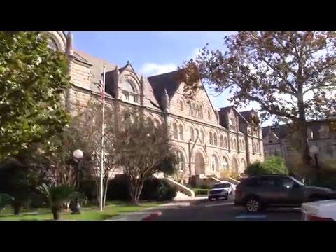 Tulane University Campus Tour  1/2