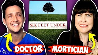 "Doctor Mike and Mortician React To ""Six Feet Under"""
