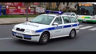 2x Skoda Octavia Policijski avto - Policija Ljubljana