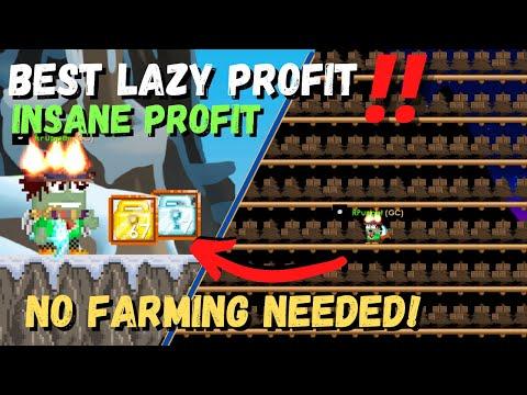 Download Updated DISPLAY SHELF LAZY PROFIT ‼️ [FULL GUIDE - NO FARM] 100% PROFIT - GROWTOPIA LAZY PROFIT 2021