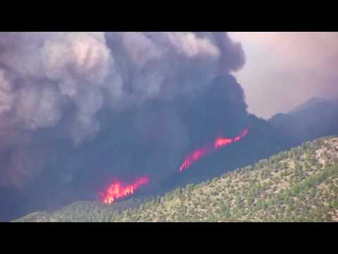 Medano Fire June 23 2010