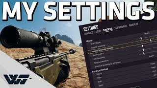 MY PUBG SETTINGS - Showing and explaining all my settings