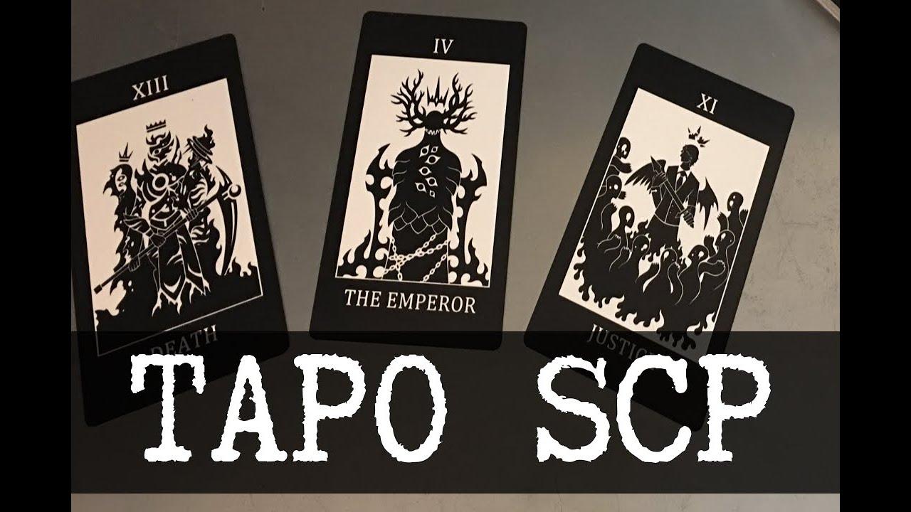Таро карты SCP, Часть 1