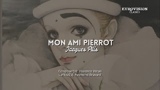 "04) MONACO ""Mon ami Pierrot"" - Jacques Pills (Lyrics) [Eurovision 1959] HD"