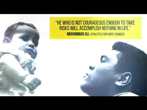 Muhammad Ali and Athletes for Hope