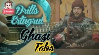 #Ertugrulghazi #ertugrulghazimusic #ertugrulghazithemetune || Drills ertugrul ghazi || Guitar ||Tabs
