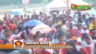 Download Video KAMPANYE AKBAR PARTAI GERINDRA KOTA DUMAI DI TAMAN BUKIT GELANGGANG MP3 3GP MP4