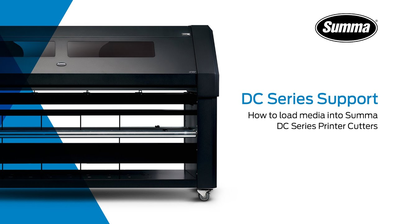 Summa DC Series Tutorial - How To Load Media