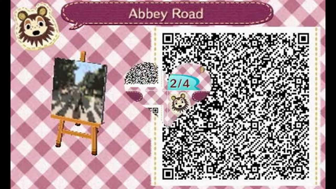 Animal Crossing New Leaf 1 Qr Codes Youtube