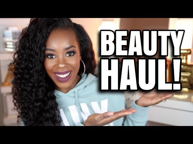 HUGE BEAUTY HAUL | PR + MORE! | Andrea Renee