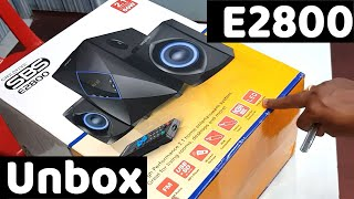 Creative SBS E2800 2 1 Speaker unboxing Sound Test Review