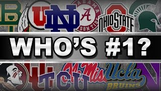 Who Should Be No. 1 After Week 5? | CampusInsiders